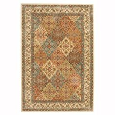 Mohawk Home Persia Almond Buff 8 ft. x 10 ft. Area Rug-441715 - The Home Depot