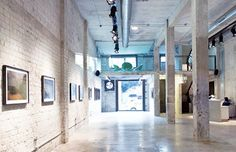 Tel Aviv Gallery renovations gives new life to an old warehouse , #architecture