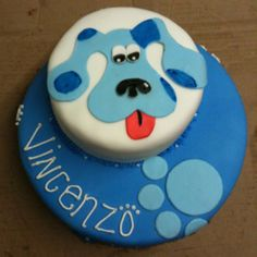 Blues clues birthday cake. I remember when my daughter used to watch Blue's Clues in the 1990s. - popculturez.com