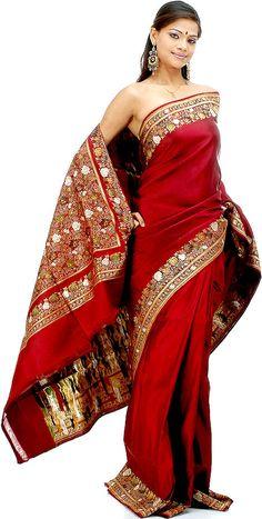 FULL SAREES | Benarasi Sarees- A Brocade From Benaras banarasi saree – Blog