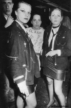 Punks, 1970's: Punk as a style originated from London from the designer Vivienne Westwood and her partner Malcolm McLaren