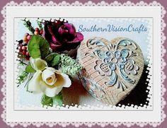 #JewelryBox #jewelrydish #heart #flower #trinketdishes , I found this really awesome Etsy listing at https://www.etsy.com/listing/220958937/jewelry-box-heart-butterfly-flower