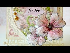 Heartfelt Creations - Classic Petunia Collection Tutorial - YouTube