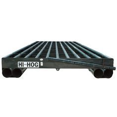 The Double Sill model provides a wider base for support and is recommended for soft ground conditions. 8′ Cattle Guard | Hi-Hog http://hi-hog.com/8-cattle-guard-double-floats/#
