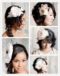 Spring Fever: Breathtaking Hair Pieces from Tessa Kim Photo