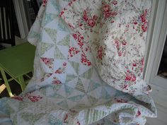 Pinwheel quilt by Lavenderfeather, via Flickr