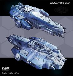 AA Corvette Cron by KaranaK on DeviantArt