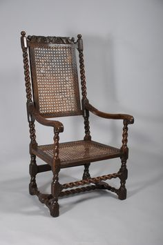 Antique Barley Twist Chair