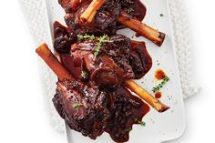 Braised Balsamic and Molasses Lamb