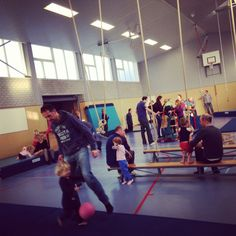 Ideeën gymles kleutergym - Peutergym of ouder en kindgym @saturna-alkmaar