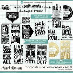 Cindy's Photostamps - Everyday Set 5 by Cindy Schneider
