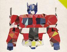 Optimus Prime - Polygon Heroes