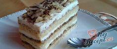Kyjevské řezy Sweet Cakes, Tiramisu, Food And Drink, Sweets, Ethnic Recipes, Desserts, Drinks, Sheet Metal, Tailgate Desserts