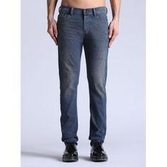 Diesel Tepphar 0827Y Slim Carrot Jeans on Sale at Designer Man