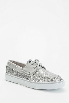 Style Deal!!! Sperry Bahama Glitter Boat Shoe on sale for $20