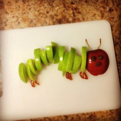 The Very Hungry Caterpillar snack.