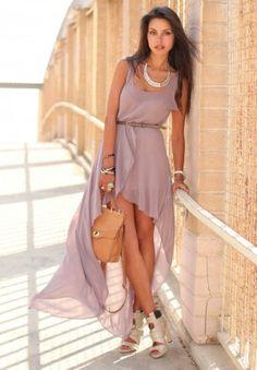 27: бледно-фиолетовый и кремовый в женственном образе