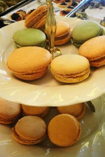 Macaroons from The Mount Nelson High Tea