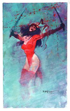 Elektra by Bill Sienkiewicz.