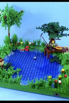 Image result for tom sawyer lego diorama