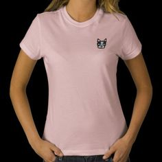 Boston Terrier Embroidered Shirt   Click on photo to purchase. Check out all current coupon offers and save! http://www.zazzle.com/coupons?rf=238785193994622463&tc=pin