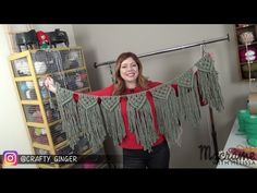DIY Tutorial: Macrame Bunting. Banner Free Pattern by Crafty Ginger
