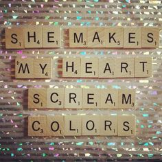 barcelona- colors.                                    love this song