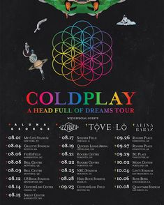 117.3 тыс. отметок «Нравится», 2,332 комментариев — Coldplay (@coldplay) в Instagram: «NEWS: LA @rosebowlstadium, Toronto @RogersCentre, and Edmonton @RogersPlace dates just added to the…»