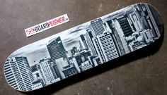 If you're out in the Denver area tonight for First Friday, keep an eye out for today's Featured Deck by Jason Siegel Photography. This photo is of the Sydney skyline that Jason took while living in Australia. See more of Jason's photography at www.jasonsiegelphotography.com.  Turn your photos into skateboard graphics at www.BoardPusher.com