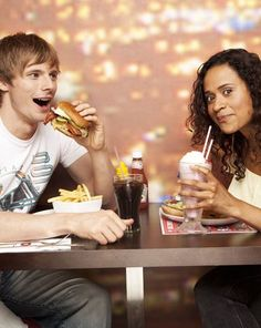 Bradley James & Angel Coulby -- I feel like being in the cast of Merlin would be just a purely *fun* experience. They just had so much fun all the time.