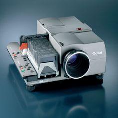 Rolleivision 66 dual P. Proyector de diapositivas 6x6 y 35 mm.
