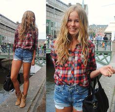 shorts-jeans-e-camisa-xadrez