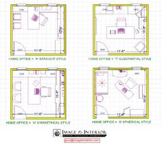 5 Highly Efficient Office Layouts Layouts Office
