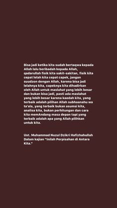 New Reminder, Reminder Quotes, Beautiful Quran Quotes, Quran Quotes Inspirational, Religion Quotes, Islamic Quotes Wallpaper, Learn Islam, Postive Quotes, Quotes Indonesia