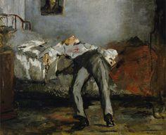 Edouard Manet - The Suicide (1877)