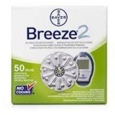Prezzi e Sconti: #Breeze 2 50 striscie reattive per il  ad Euro 39.99 in #Bayer #Diagnostici