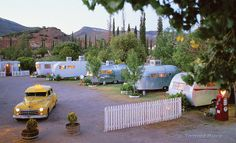 The Shady Dell in Bisbee, AZ  I'd love to go stay here
