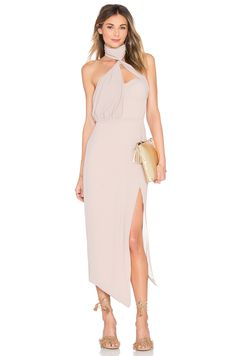 Misha Collection Triviata Dress in Mousse
