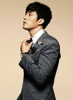 plaid #suit :: So Ji Sub