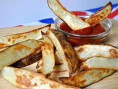 Salt and vinegar potato wedges. YES. YES. YES.