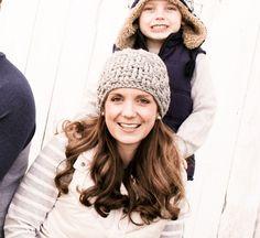 Crochet Hat Pattern, The Sarah Hat,  Womens Hat Pattern, Beanie Pattern, Gray Hat, Wool Hat, Knit Hat, Pattern, Crochet Pattern, Womens Hat by rubywebbs on Etsy