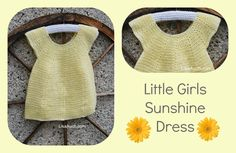 Free Crochet Pattern Baby Dress That is Simply Adorable. (FREE Crochet Patterns)