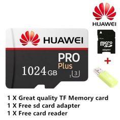Micro sd 1024 Giga Huawei pro plus Scheda di Memoria con Adattatori Adaptador Usb, Camera Cards, Flash Memory Card, Card Storage, Dashcam, Android Smartphone, Card Reader, Get The Job, Sd Card