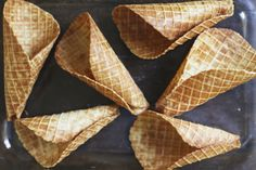 Almond Flour Waffle Cones, gluten and grain free — Roost