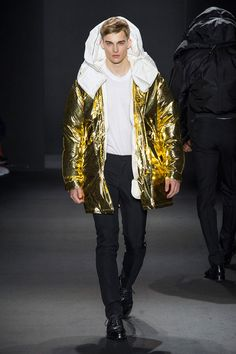 Calvin Klein Collection Does Basics & Metallic Styles for Fall