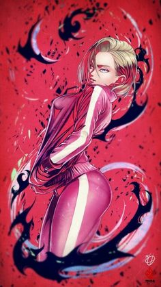 Tagged with anime, dragonball z, apple, android; The only Android I wouldn't mind having Android 18, Dragonball Anime, Dbz Characters, Chica Anime Manga, Goku Manga, Fanarts Anime, Animes Wallpapers, Anime Art Girl, Sexy Cartoons
