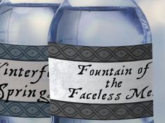 Printable Game of Thrones water bottle labels - Marvel - Game of Thrones Game Og Thrones, Game Of Thrones Food, Game Of Thrones Premiere, Game Of Thrones Theme, Game Of Thrones Halloween, Game Of Thrones Birthday, Game Of Thrones Instagram, Got Party, Got Game