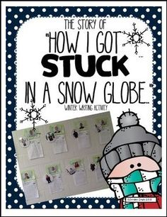 """FREE LANGUAGE ARTS LESSON - """"Winter Writing Activity - """"How I got stuck in a snow globe..."""" """" - Go to The Best of Teacher Entrepreneurs for this and hundreds of free lessons. 3rd - 7th Grade #FreeLesson #LanguageArts http://www.thebestofteacherentrepreneurs.net/2015/11/free-language-arts-lesson-winter.html"""