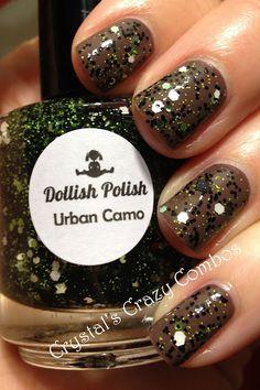 Dollish Polish Urban Camo