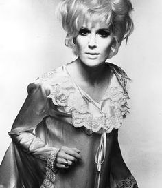 11 April English pop singer Dusty Springfield - wearing a frilly satin top. (Photo by Evening Standard/Getty Images)Image provided. Soul Singers, Female Singers, Women's Dresses, Fitted Dresses, Call Dusty, Dusty Springfield, Ralph Lauren, Column Dress, Blonde Wig